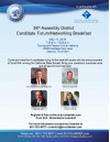 May 11: SCV Chamber of Commerce 38th Assembly District Candidate Forum