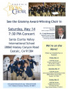 May 14: Grammy Winning Choir Comes to SCV