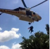 Injured Hiker, 71, Airlifted to Hospital (Video)