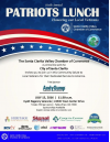 July 13: Honor Local Veterans at 6th Annual Patriots Lunch