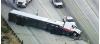 Overturned Big Rig Prompts Full Closure Of 14 Freeway, Backs Up Traffic