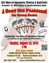 Aug. 28: SCV Men of Harmony Chorus & Quartets 40th Annual A-Capella Harmony Show