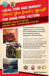 Aug. 27: Everybody Invited to Thank Firefighters, Help Victims