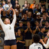 Mustangs Volleyball Team Hits Road Bump at Menlo College