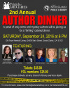 Sept. 24: Friends of Library Host Crime and Mystery Author Dinner