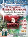 Dec. 9, 10: VHS Choir Hosts Holiday Boutique