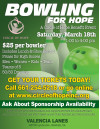 March 18: Bowl for Hope with Circle of Hope