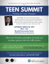 March 25: City Hosts Teen Summit at Newhall Community Center