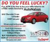AutoNation Donates Car to WiSH Education Foundation