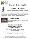 March 30: Silvertone Singers Concert, Art Show at SCV Senior Center