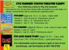 CTG Spring Performances, Summer Theatre Registration