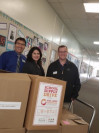 Newhall Elementary Receives School Supply Donation