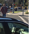'Heads Up' Crosswalk Stencils Boost Santa Clarita's Pedestrian Safety Effort