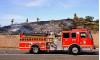 Firefighters Extinguish Small Brush Fire Sunday