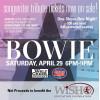 David Bowie Memorabilia to be Raffled at Tribute Concert