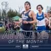 Sherfey Named GSAC Male Track Athlete of the Month