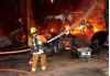 Suspected Arson Fire Burns House, Barn in Agua Dulce