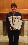 College Paralegal Professor Receives C.A.S.A. Child Advocacy Award