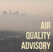AQMD: Air Quality in SCV Unhealthy on Saturday