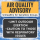 Tuesday SCV Air Quality: Unhealthy for Sensitive People