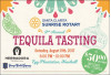 August 19: Sunrise Rotary Tequila Tasting Fundraiser