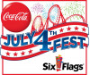 Six Flags to Celebrate 4th of July with Five-Day All-American Food Festival