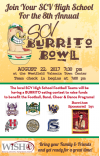 Aug. 22: Annual Burrito Bowl to Benefit Local Student Groups