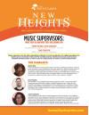 August 9: Film & TV Music Supervisors Panel on Soundtracks