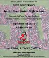 Sept. 1: Arroyo Seco Junior High Celebrates 50th Anniversary