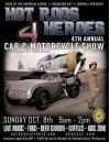 Oct. 8: Hot Rods 4 Heroes