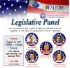 August 16: Legislative Panel Luncheon