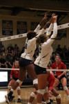 Master's Volleyball Team Rises Above the Pressure