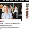 Los Angeles Magazine Features Female Animators from CalARTS