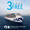 """Princess Cruises Offering """"3 for Free"""" Sale"""