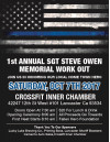 Oct. 7-8: High Desert Fallen Heroes Event; Includes Inaugural Sgt. Steve Owen Memorial Crossfit Work-Out