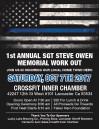 Oct. 7-8: High Desert Fallen Heroes Event; Includes Inaugural Sgt. Steve Owen Memorial Crossfit Work-Out