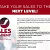 September 15: VIA Sales Academy 2017 Sessions Begin