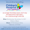 Nov. 1: RE/MAX Blood Drive to Benefit CHLA