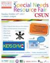 Oct. 22: CSUN Hosts Special Needs Resource Fair