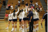 Cougars Volleyball Earns Fifth Straight Sweep