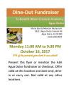 Oct. 16: Dine-Out Fundraiser for Einstein Academy Agua Dulce