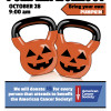 Oct. 25: Pumpkin Workout Benefits American Cancer Society