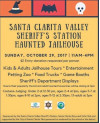 Oct. 29: SCV Sheriff's Station Annual Haunted Jailhouse, Community Open House