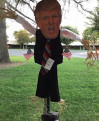 School Staff Receiving Inappropriate Messages Over Trump Scarecrow Controversy