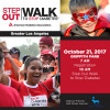 Oct. 21, Nov. 4: Step Out Walks to Stop Diabetes