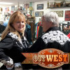 OutWest's Jim and Bobbi Jean Bell Ride East Into the Sunrise