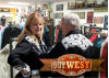 OutWest Owners Jim and Bobbi Jean Bell Ride East Into the Sunrise