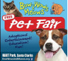 Oct. 8: Bow-Wows and Meows Pet Fair at Hart Park