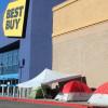 Santa Claritans Already Camping Out for Black Friday Sales