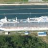 Caribbean Princess Sails Through Newly Expanded Neo-Panamax Locks